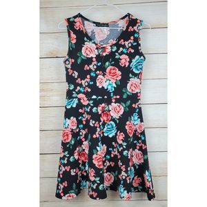 French Atmosphere Floral Dress Sz Large